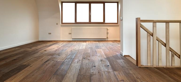 Hardwood Floor Finished Attic Space