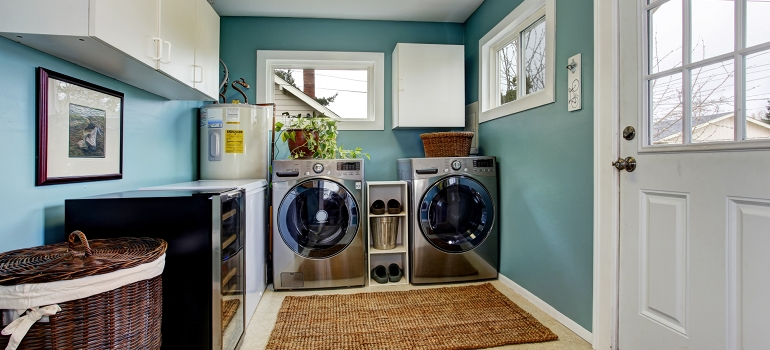 Pictures And Ideas For Laundry Room Projects