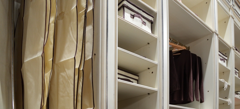 Modern Closet Organization Shelves