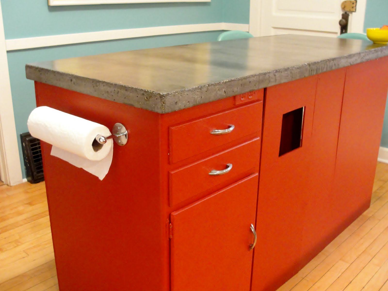 diy concrete countertop for kitchen. Black Bedroom Furniture Sets. Home Design Ideas