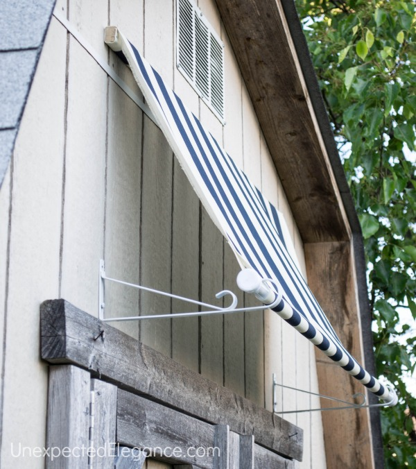 Quick And Easy Diy Shed Awning Renocompare