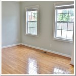 Installation of Blonde Hardwood Floors