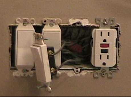 Replacing A Bath Fan Switch With Electronic Timing Device