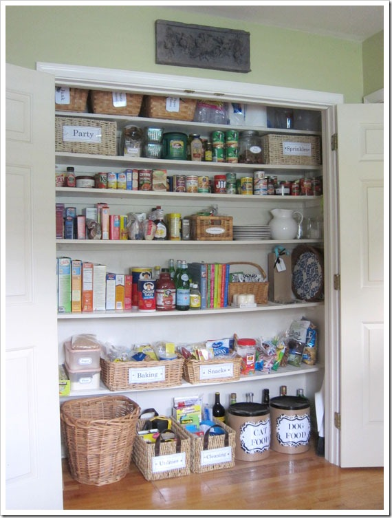 Captivating Open Doors To See Pantry_thumb
