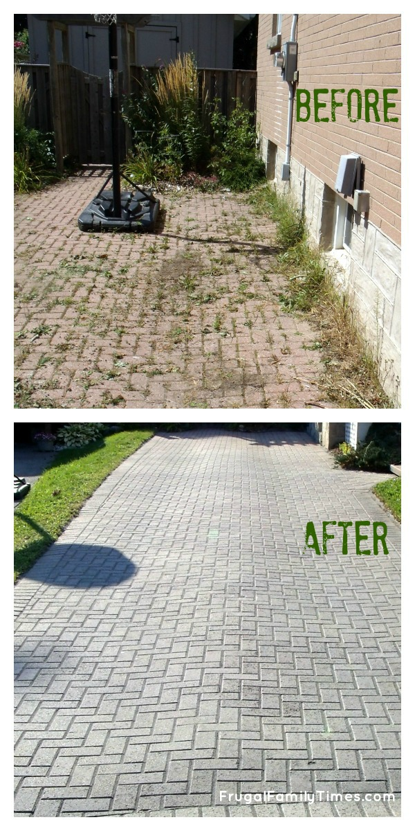 Brick Driveway Weed Control Renocompare