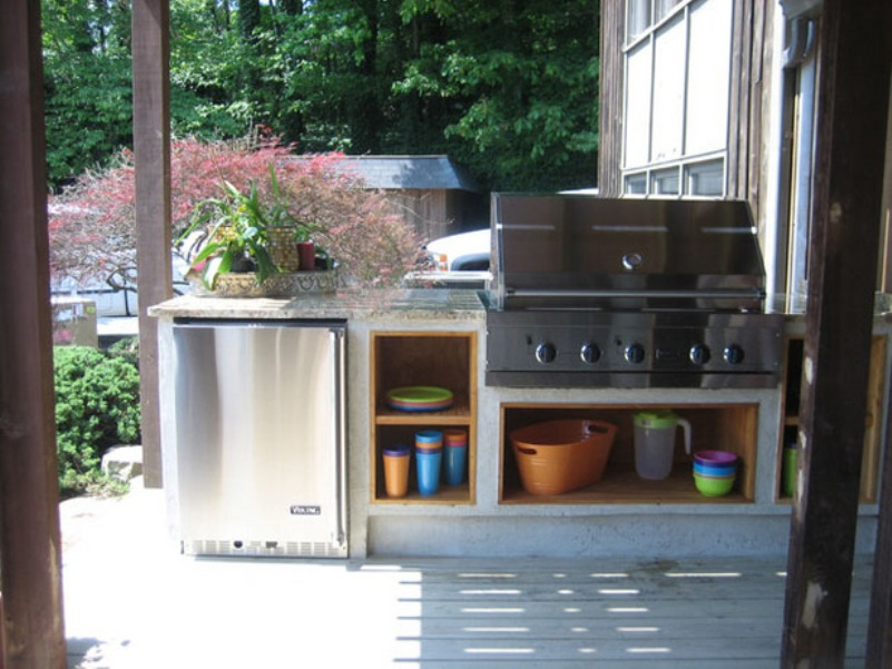 and ideas for Outdoor Grilling and Kitchen Projects
