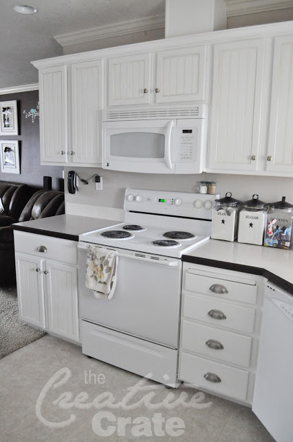 White Beadboard Kitchen Cabinets | RenoCompare