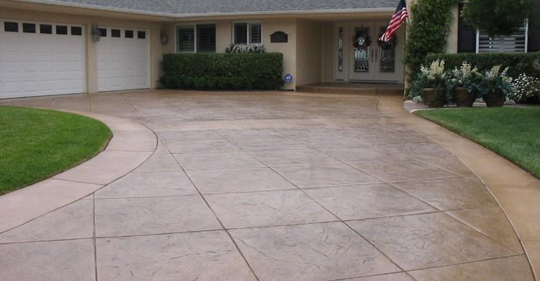 Design Ideas For a Stamped Concrete Driveway   RenoCompare