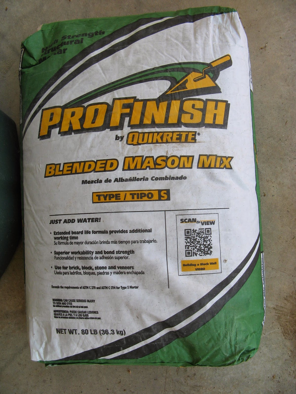 Masonary mortar Profinish