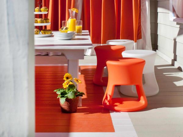 orange rug