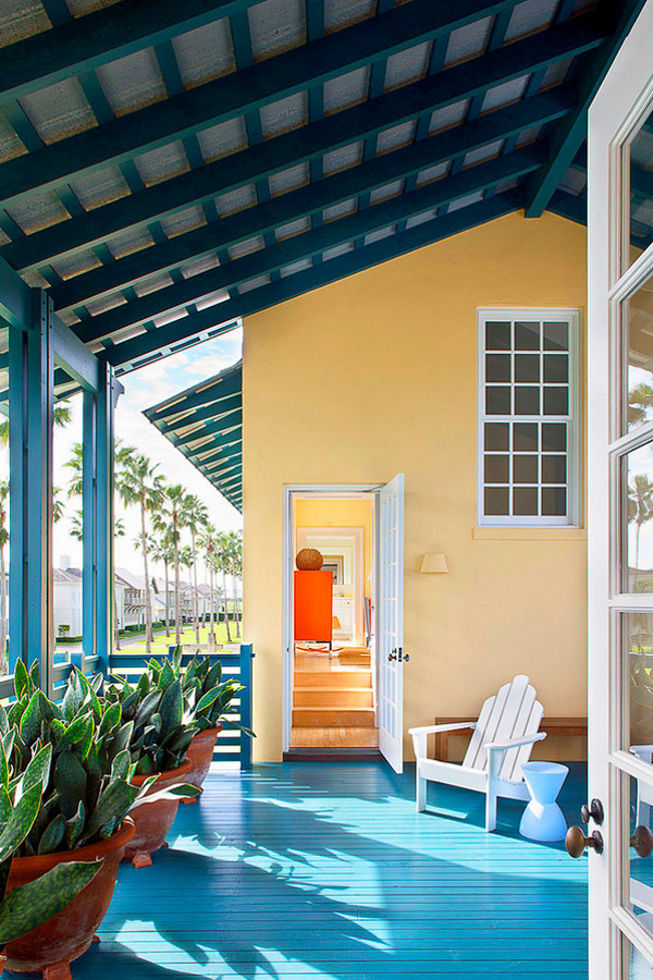Deck Painting Ideas 32 Colorfully Painted Decks And Porches