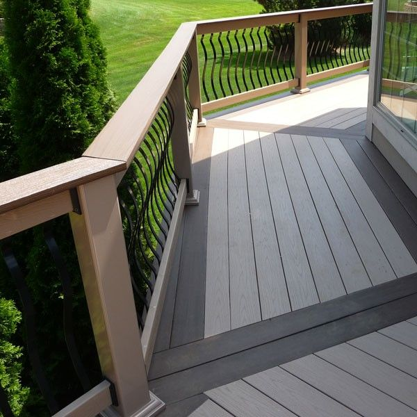 Composite deck vs patios compare the pros cons and for Composite decking comparison