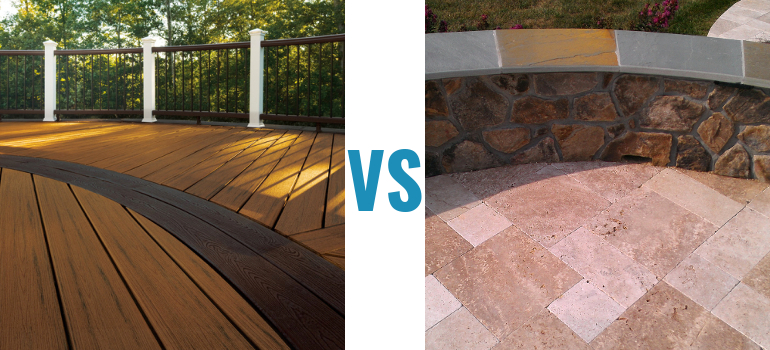 composite vs patio - Deck Vs Patio