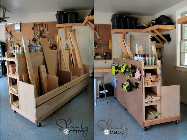 diy lumber caddy