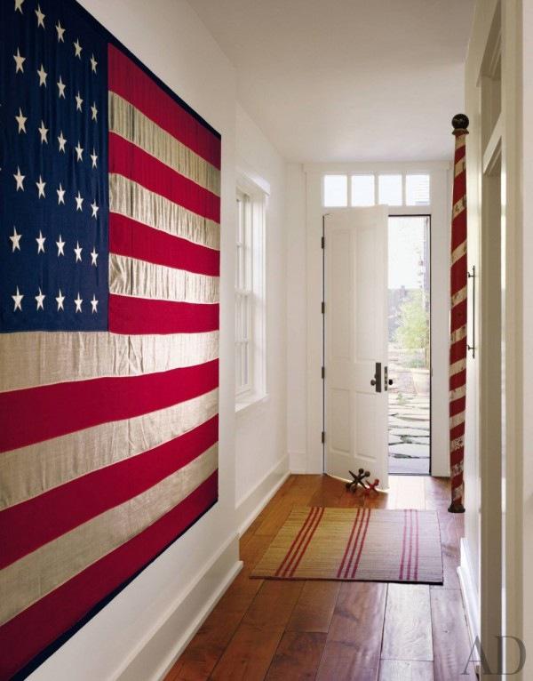 hallway flag