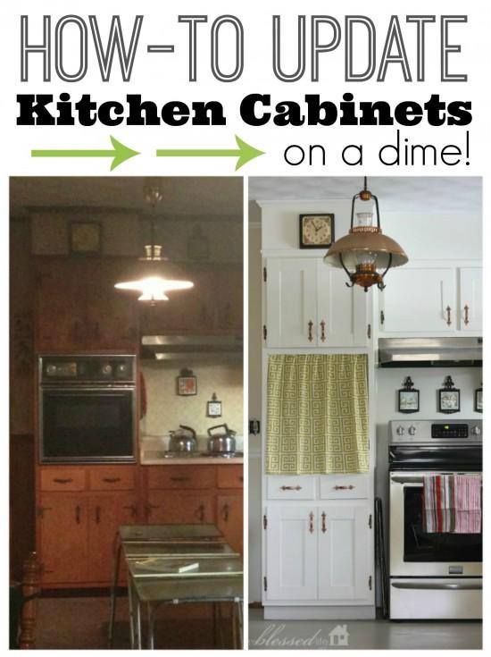 refurbishing kitchen cabinets
