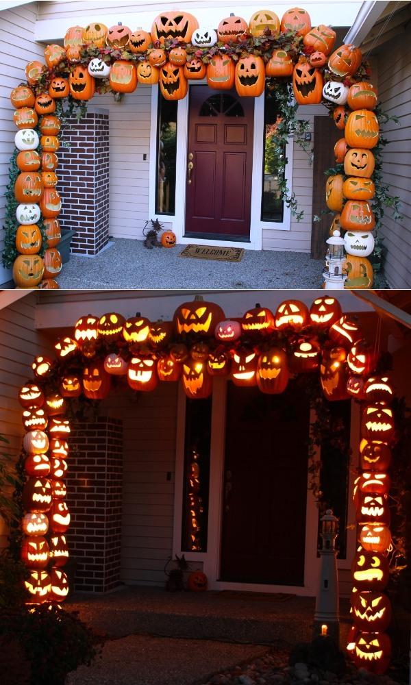 pumpkin arch