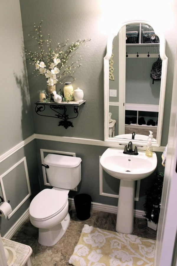 Picture Frame Molding Picture Frame Molding & Chair Rail Molding Ideas for the Bathroom | RenoCompare