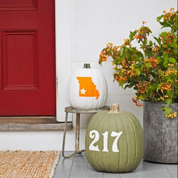 repurposed pumpkins