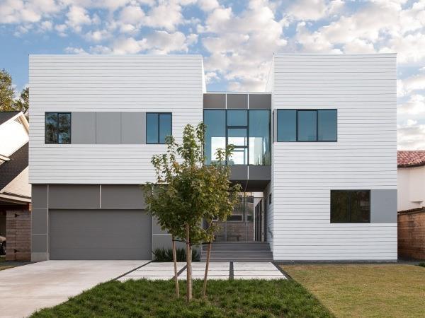 Zaguan House – Fiber cement