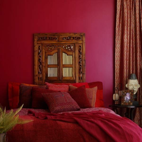 appealing romantic red bedroom design | Romantic Bedrooms - Romantic Ideas for Master Bedrooms ...