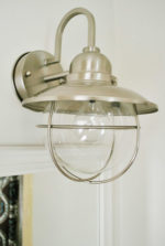 Updating Traditional Bathroom Light Fixtures