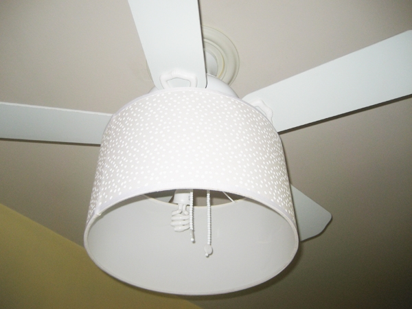 ceiling fan drum shade