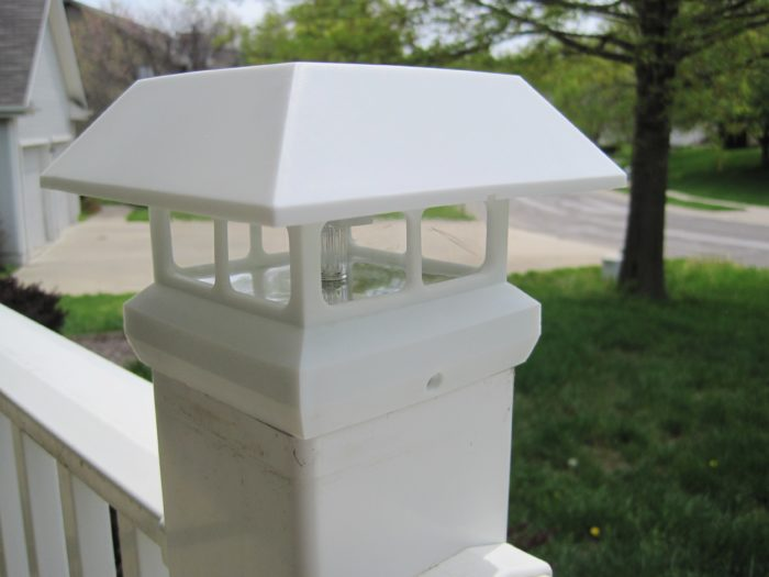 front porch light idea