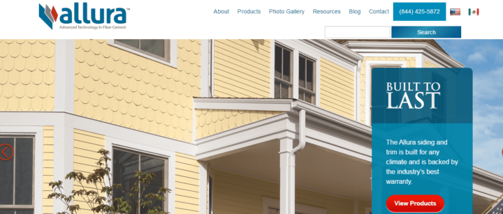 Fiber cement siding manufacturers and reviews for Allure cement siding