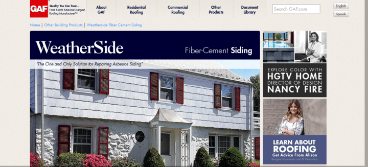 Fiber cement siding manufacturers and reviews for Gaf cement siding