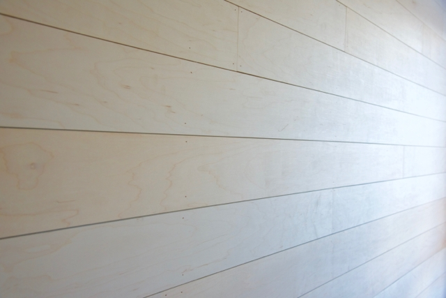 Shiplap Walls close up