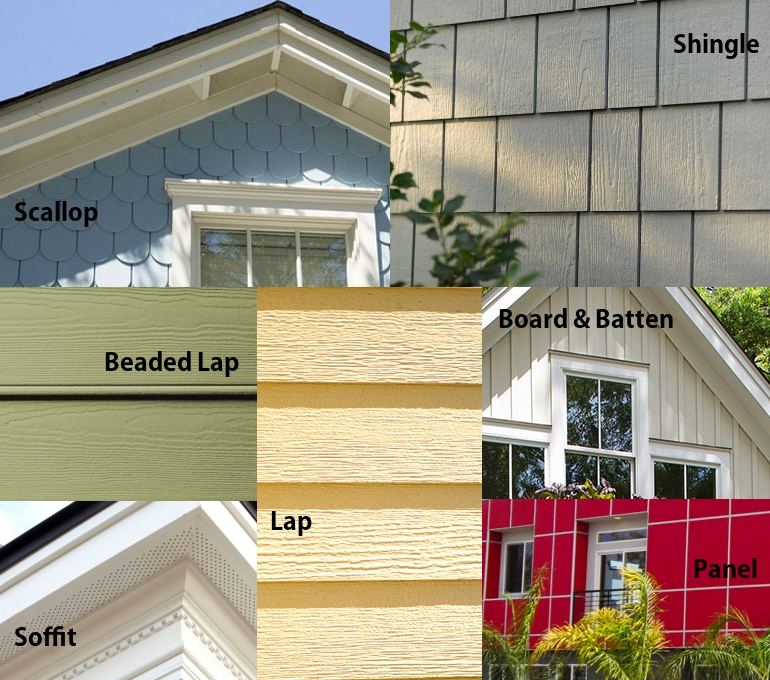 Fiber cement options renocompare for Fiber cement siding fire rating
