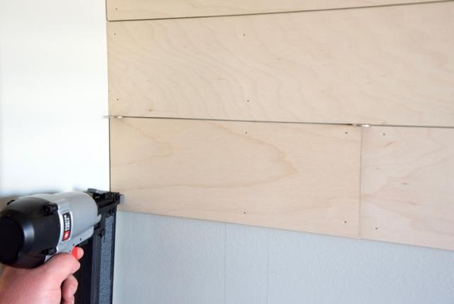 installing siplap walls