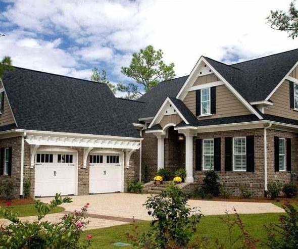 Brick And Stone Siding Options A