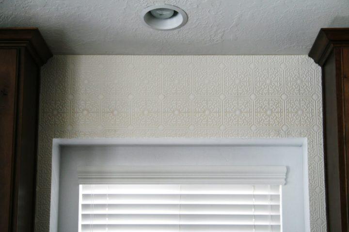 Kitchen Bay Window Decorating Ideas: Wallpaper