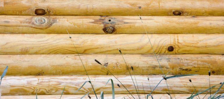 cabin log siding