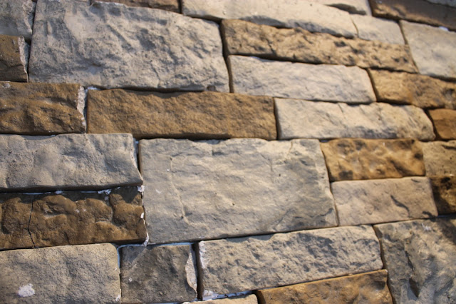How Much Is Air Stone : Stone accent wall diy air in a living room