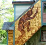 Using Cedar Siding for a Pictorial Mural