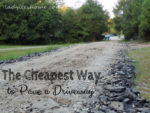 How to Pave a Driveway For Less Using the Cheapest Materials