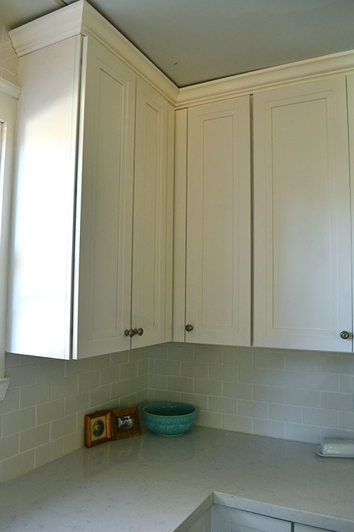 Adding Crown Molding to Kitchen Cabinets | RenoCompare