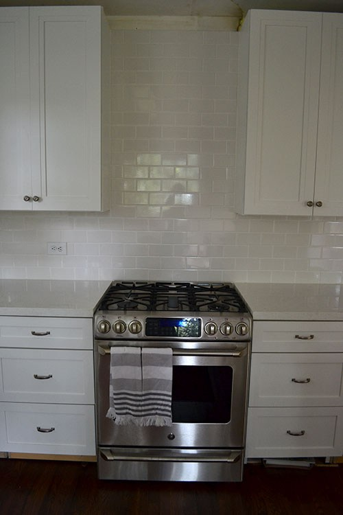 mary and her husband had already done an extensive makeover of the kitchen in their new home expanding cabinetry updating appliances painting adding a     adding crown molding to kitchen cabinets   renocompare  rh   renocompare com