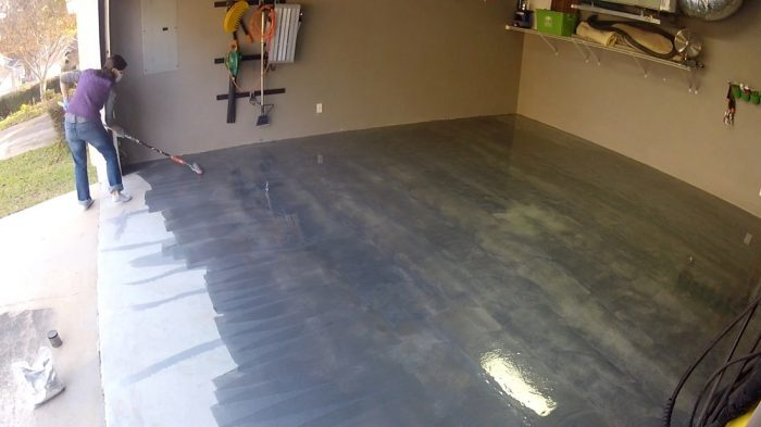 Metallic Garage Floor Coating Diy Epoxy Garage Floor