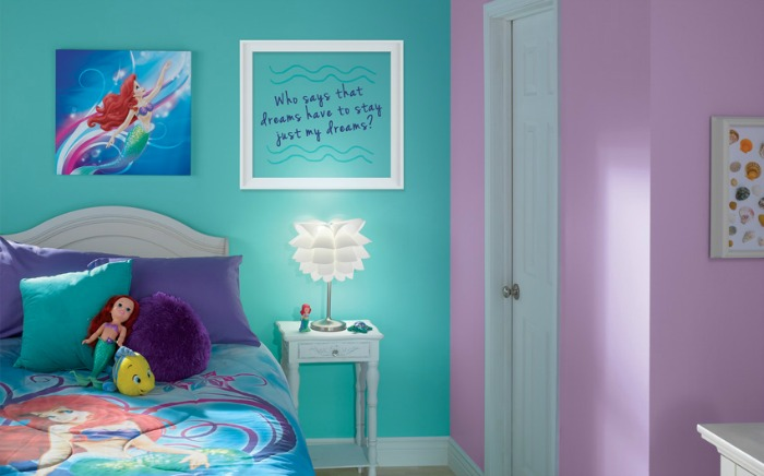 Little Mermaid Bedroom Decor Colors And Ideas Renocompare
