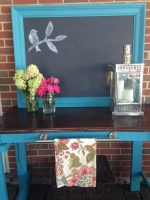 DIY Outdoor Buffet Table