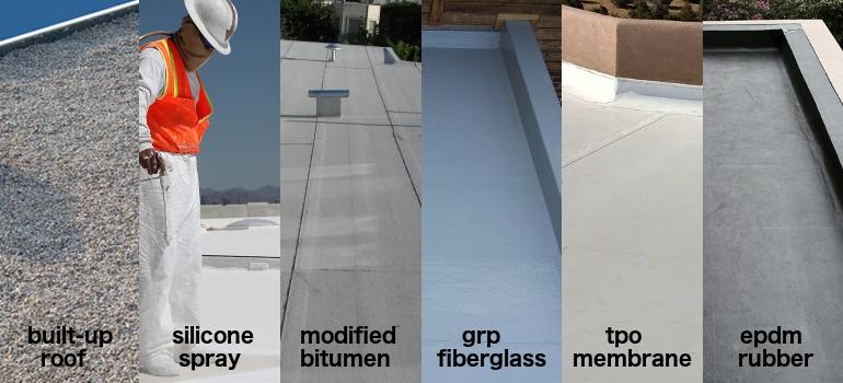 Flat Roof Materials Flat Roof Materials Options Pros